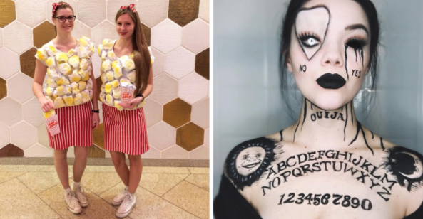 halloween makeup party themes and costumes ideas