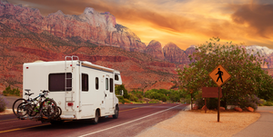 Roadtrip in a camper van