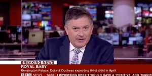 This BBC newsreader DGAF about the royal baby