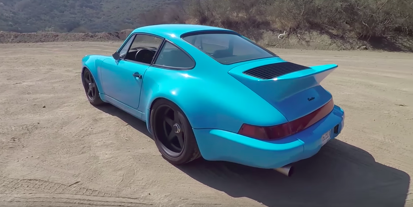 This Stunning Porsche 964 Turbo Is Powered By A Pikes Peak