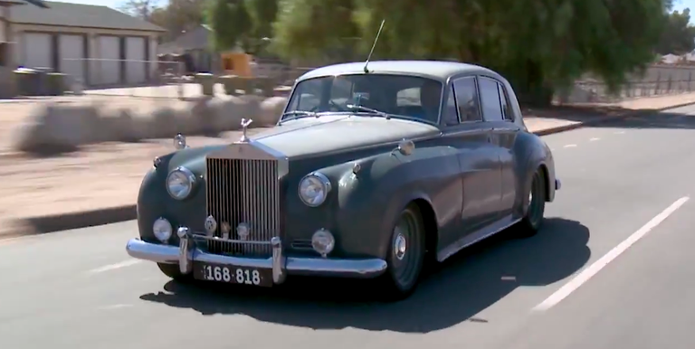 V8 Swapped 1958 Rolls Royce Icon Derelict On Jay Leno S Garage