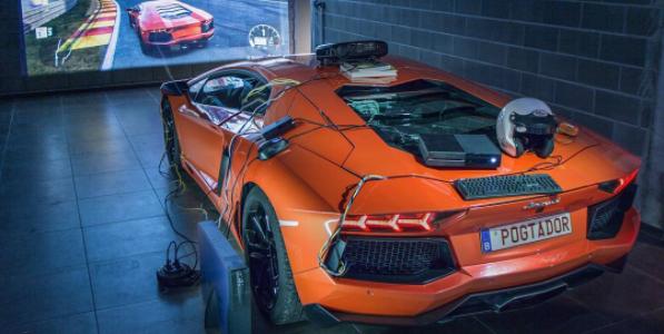 Lamborghini Aventador Xbox Controller Real Life