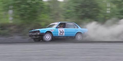 e30 rally car