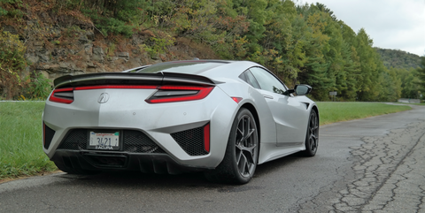 You Don't Need to Compromise to Drive the Acura NSX Every Day