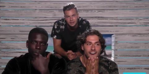 Did Love Island's Marcel just shade Chris and Kem on Instagram?