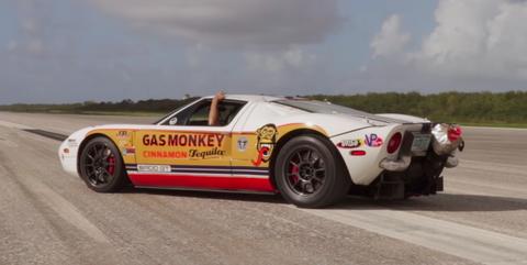 Ford GT Johnny Bohmer 292 mph