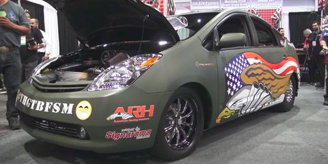 Hellcat-powered Prius