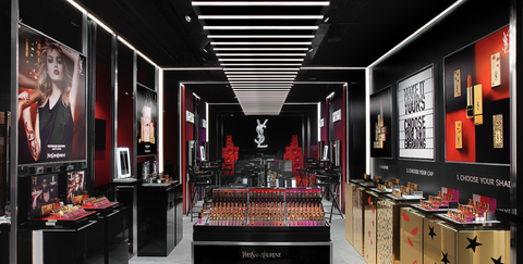 f3194c7a1a4 YSL's New Beauty Pop-Up Is Makeup Hoarder Heaven