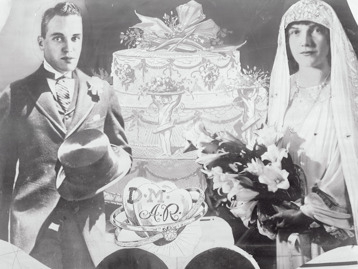 "Abby ""Babs"" Rockefeller's Wedding Dress Abby, daughter of John D. Rockefeller, Jr. and Abigail Green Aldrich, married banker David Milton in 1925. The wedding was a *huge* news-making affair, with 1,200 guests at the reception in NYC."