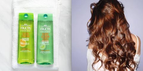 Hair, Green, Hairstyle, Beauty, Brown hair, Hair coloring, Blond, Long hair, Shampoo, Hair accessory,
