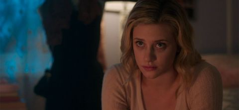 Betty Being Sad Over Jughead Because The Stupid Black Hood Told