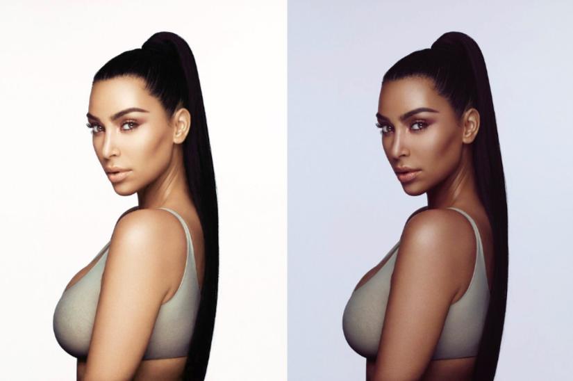 Image result for Kim Kardashian blackface