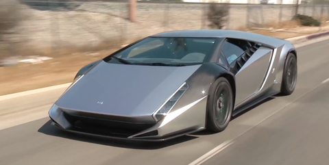 The Kode 0 Is What A Modern Supercar Would Look Like Without Any
