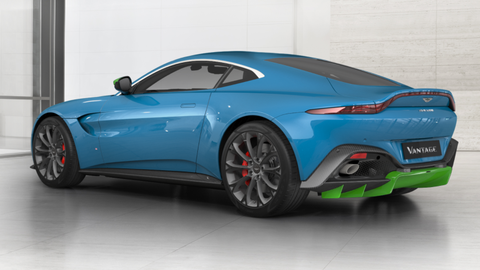 How Would You Configure Your Aston Martin Vantage New V - 2018 aston martin v8 vantage