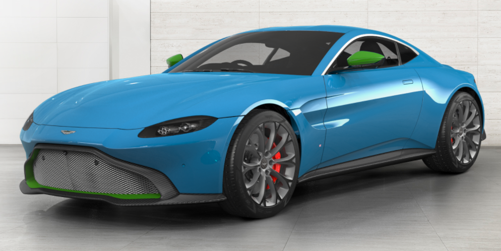 How Would You Configure Your 2018 Aston Martin Vantage ...