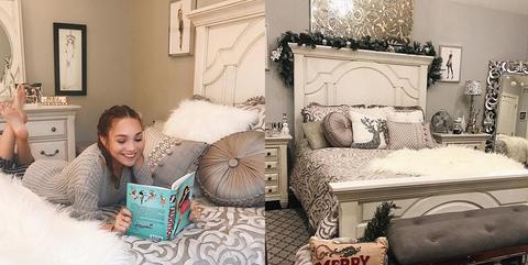 Maddie Ziegler Transforms Her Room Into A Stunning Winter Wonderland