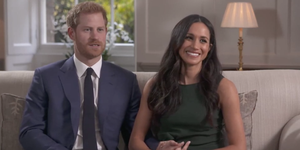 Prince Harry and Meghan Markle's first interview