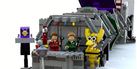 Toy, Playset, Lego, Fictional character, Vehicle, Animation, Action figure, Toy block, Machine,