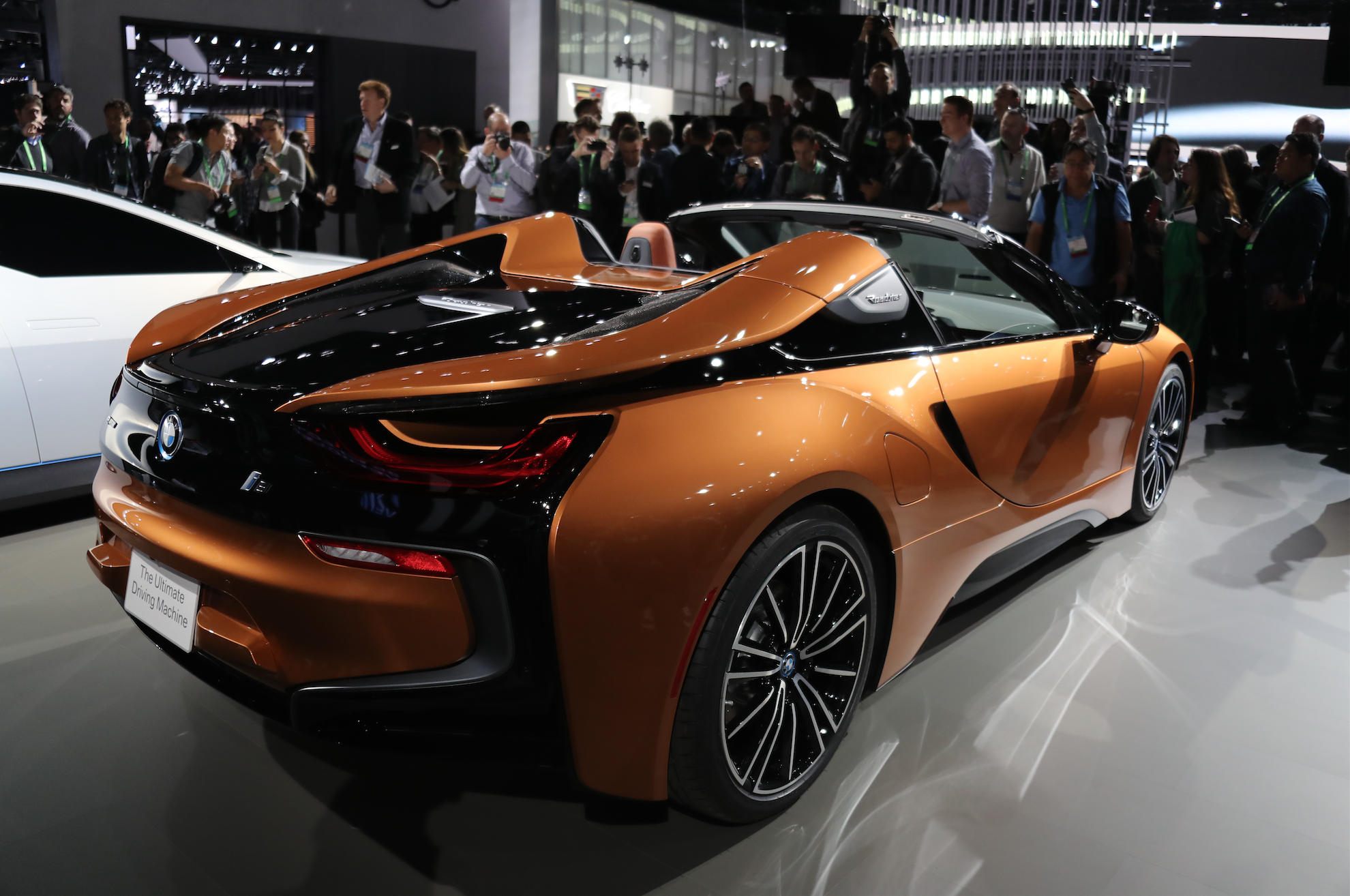 2019 Bmw I8 Roadster This Is It With Slightly More Horsepower And