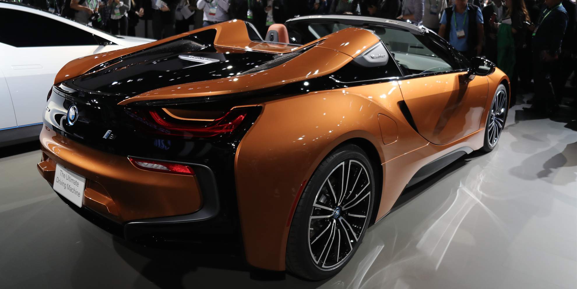 2019 Bmw I8 Roadster This Is It With Slightly More
