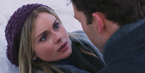 the plot of this movie is a beautiful nonsensical mess even by lifetimehallmark movie standards image netflix