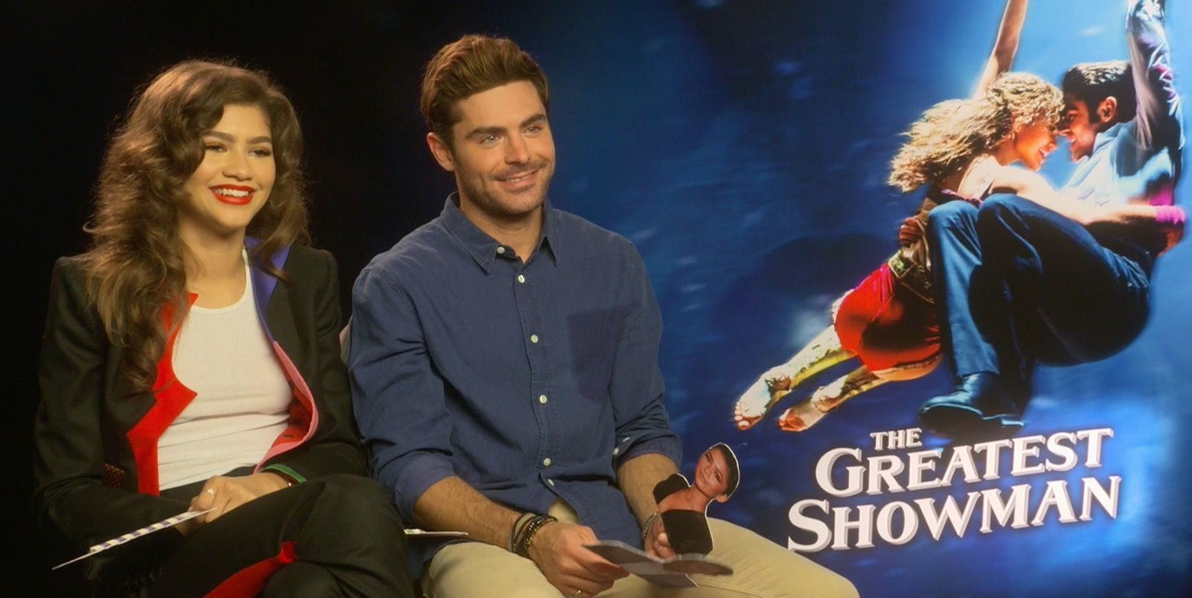 Watch Zac Efron and Zendaya doing the robot