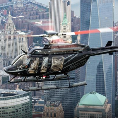 helicopter, helicopter rotor, aircraft, rotorcraft, vehicle, aviation, city, bell 206, skyscraper, metropolis,