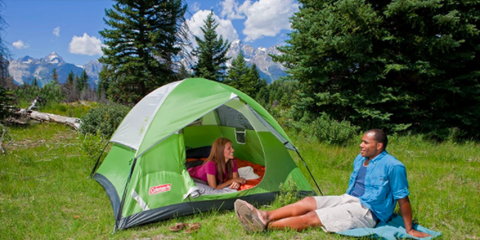 Tent, Camping, Plant community, Hiking equipment, Leisure, Wilderness, Recreation, Leaf, Biome, Grassland,