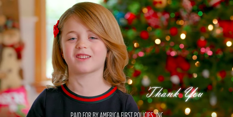 merry christmas president trump this video is horrifying