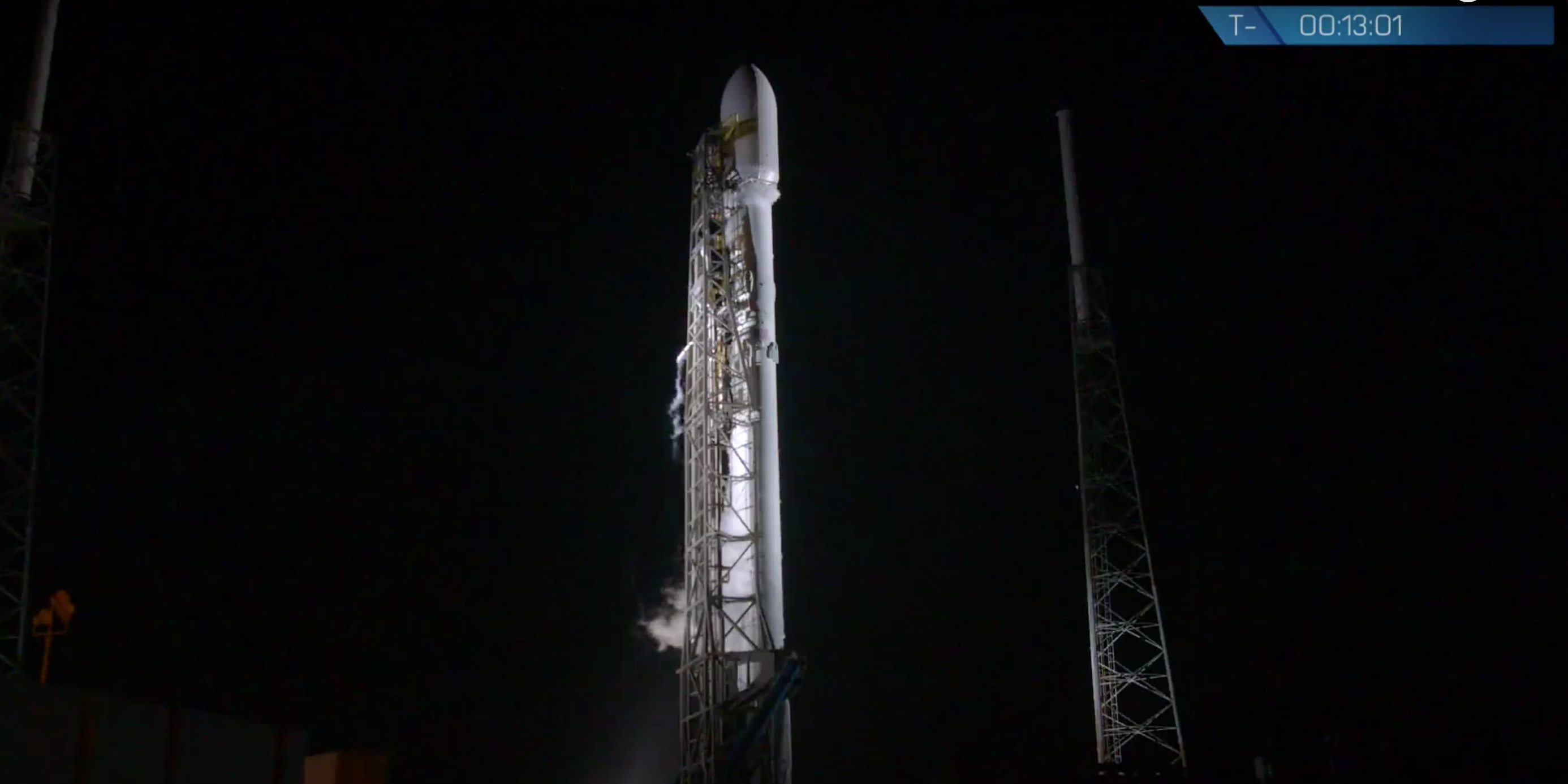 after a few delays spacex launches the secret payload built by northrop grumman