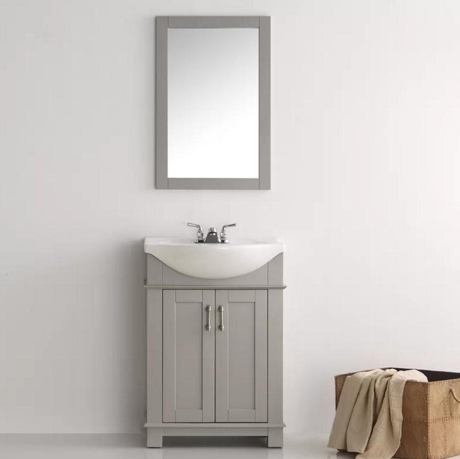Pleasant 25 Small Bathroom Vanities For Glamorous Bathrooms Buy Theyellowbook Wood Chair Design Ideas Theyellowbookinfo