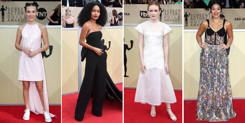 2018 screen actors guild awards 2018 best dressed