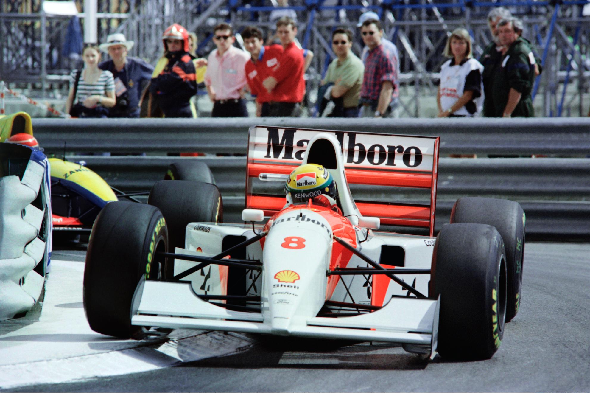 Ayrton Senna\'s Record-Breaking Monaco GP Formula 1 Car Heads to Auction