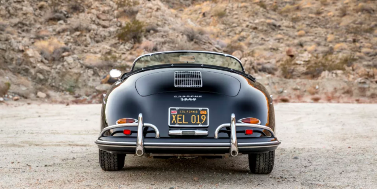 Porsche 356 Speedster Steve McQueen vintage auto