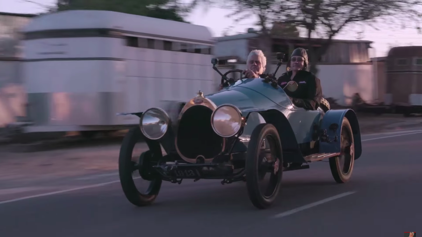Oldest Running Bugatti in Existence on Jay Leno\'s Garage