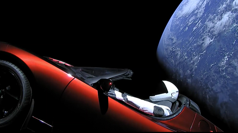 Skywatchers Capture The Moment Elon Musk S Tesla Took Off