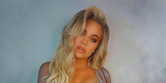 Khloe Kardashian's pregnancy bump