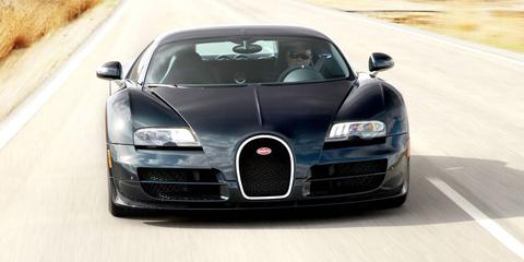 Land vehicle, Vehicle, Car, Bugatti veyron, Bugatti, Supercar, Automotive design, Sports car, Performance car, Hood,