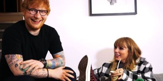 Taylor Swift shares super cute insight into her friendship with Ed Sheeran