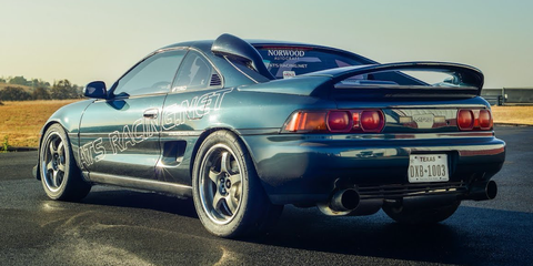 A 1000 Hp Toyota Mr2 Is Too Much Car Even For The Track