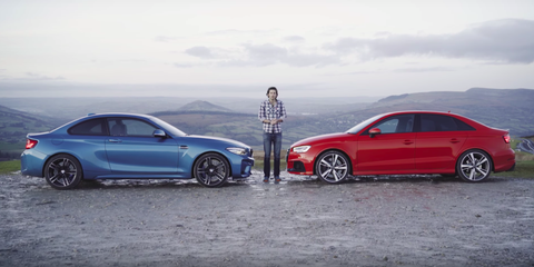 BMW M Vs Audi RS Which Small Luxury Performance Car Is King - Bmw vs audi