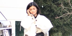 Kylie Jenner pictured for the first time since giving birth