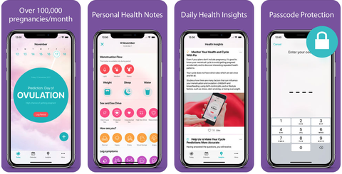 8 Best Period Tracking Apps Free Menstrual Cycle Tracker Apps