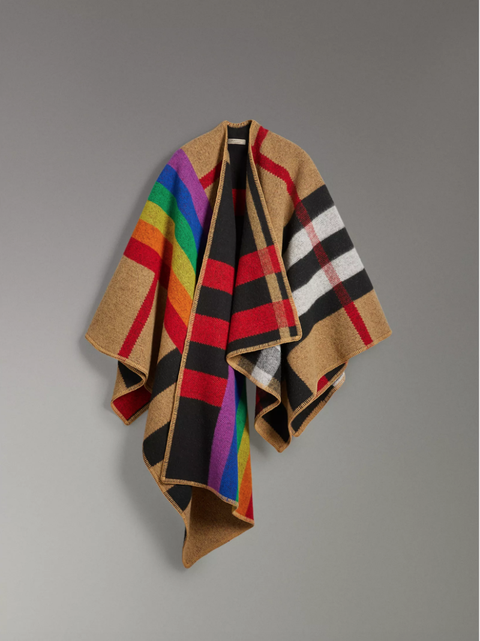 a65a9eca6eca The Burberry Check Gets a Rainbow Makeover to Benefit LGBTQ Rights