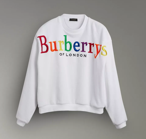 a3026393af3 The Burberry Check Gets a Rainbow Makeover to Benefit LGBTQ Rights