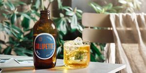 Cider, zomerdrank, Ambachtelijke cider, Galipette, Brut, zomer, terras