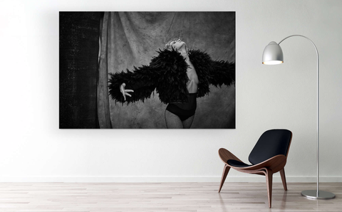 Black, Wall, Black-and-white, Room, Furniture, Art, Stock photography, Photography, Wall sticker, Visual arts,