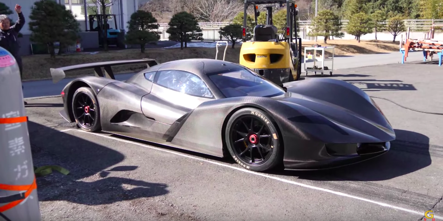 Watch Japan S Newest Electric Car Do 0 60 In 1 9 Seconds