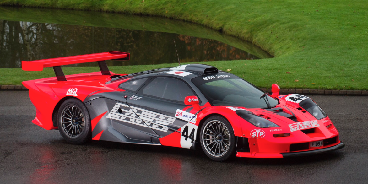 Holy Crap There S A Road Legal Mclaren F1 Gtr Longtail