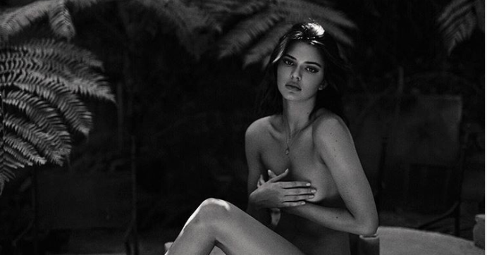 Kendall Jenner Just Posted Some Completely Naked Photos and Video! Happy Sunday!